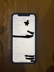 Apple iPhone 11 - 128GB - Black (AT&T) A2111 (CDMA + GSM)
