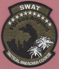 FBI FEDERAL BUREAU OF INVESTIGATION LOS ANGELES SWAT TEAM POLICE PATCH