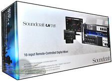 Soundcraft Ui16 16-channel remote-controlled digital mixer with built-in Wi-Fi