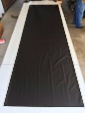 A&E Dometic  RV Camper Slide Topper Awning Replacement Fabric 15 ft.  Black # 42
