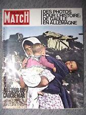PARIS MATCH n°701 15-09-1962 SEISME EN IRAN⧫CLAUDIA CARDINAL⧫MAURICE HOUVION