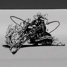Ghost Rider Graphic Tailgate Hood Window Decal Vehicle Truck Vinyl Motorcycle 1x
