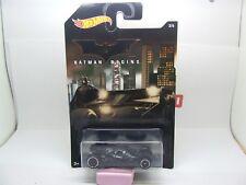 Batman Begins Batmobile 3/6 Hot Wheels Comme neuf sur Longue Carte
