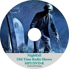 Nightfall Old Time Radio Shows OTR OTRS 138 Episodes MP3 DVD-R