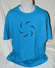 Awesome Hero of Void Mens Turquoise Blue T-Shirt 2XL NEW Roxy Lallonde