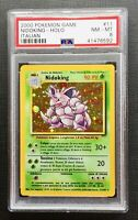 Pokemon PSA 8 Italian Nidoking Holo Base Set #11/102