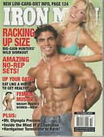 OCT 2004 IRON MAN vintage body building magazine SHAY LYN