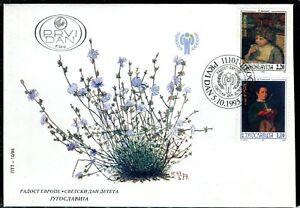 "2737 - Yugoslavia 1995 - ""Joy of Europe"" - FDC"
