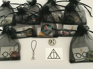 Harry Potter Pre Filled Party Bags, Gift/Favour/Filler, Deathly Hallows, Badge