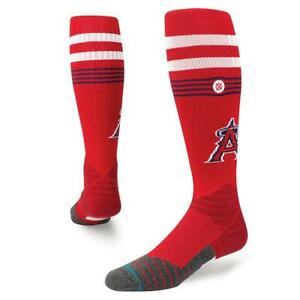 STANCE ANGELS BASEBALL SOCKS DIAMOND PRO OTC RED SIZE LARGE