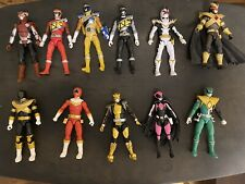 Power Rangers Lightning Collection Lot - 14 Figures and 9 Stands! MMPR & More!
