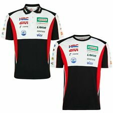 LCR Castrol Honda HRC MotoGP Racing Official Team Polo T Shirt Crutchlow