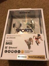Brand New Sealed SONY Wireless noise canceling earphones WI-SP600N White