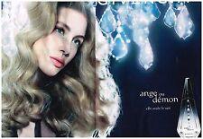 Publicité Advertising 2006 (2 pages) Parfum Ange ou Demon de Givenchy