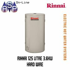 RINNAI HOTFLO ELECTRIC STORAGE HWS - 125L - 3.6Kw SINGLE ELEMENT (HARDWIRE)