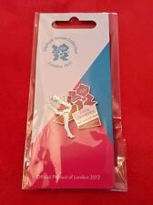 Olympics London 2012 Venue Sports Logo Pose Pin - Artistic Gymnastics
