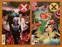 X-MEN #4 DX Yu Main + Ortega Venom Island Variant Set Marvel 2019 NM+