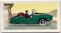 """Bambino"" Holland  Mid-1950s Miniature Car Vintage Trade Ad Card"
