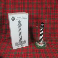 Lefton's Historic American Lighthouse, Cape Hatteras, Nc, Mint in Box, 1999