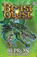 Sepron the Sea Serpent (Beast Quest) by Adam Blade, Good Used Book (Paperback) F