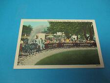 Miniature Railway Salem Willows,Massachusetts Vintage Colorful Postcard PC21