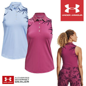 Under Armour Women's Iso-Chill Sleeveless Golf Polo. - NEW! 2021 *MULTI-BUY!*
