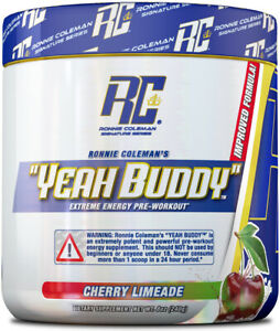 * RONNIE COLEMAN YEAH BUDDY PRE-WORKOUT (30 SERVE) 270G - CHERRY LIMEADE *