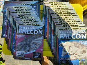 Star Wars DeAgostini #1-100 Full Set  Build The Millennium Falcon + Extras
