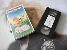 """***   K7 VHS MAYA L'ABEILLE  """" le chien et la puce & la luciOle Jimmy """" *** -"""