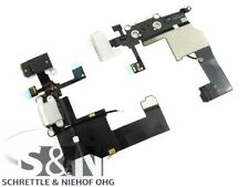 Original iPhone 5 Docking Lade Konnector weiß Kopf Hörer Buchse Kabel Stecker