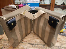 WW2Motorcycle Pannier bags,New made reproduction- BSA ,Norton, Matchless ,Ariel.
