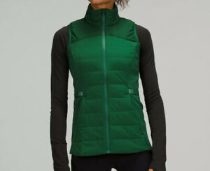 LULULEMON DOWN FOR IT ALL VEST EVERGLADE GREEN 2 4 6 8 10 12 ~NWT~FREE USPS SHIP