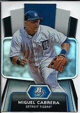 Miguel Cabrera 2012 Bowman Platinum CES-MC Die Cut Detroit Tigers