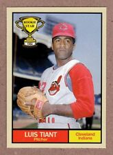 Luis Tiant '64 Cleveland Indians Rookie Stars series #2 Monarch Corona