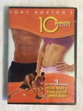 Tony Horton: Total Body 2, Core Cardio, Upper Body (NEW SEALED DVD) 3 Workouts