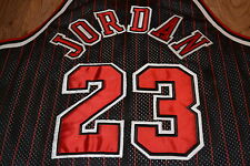 AUTHENTIC CHAMPION NBA Chicago Bulls Michael Jordan maglia jersey XL! Basket
