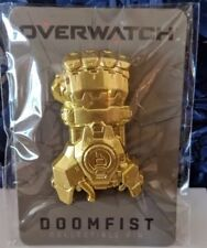 Doomfist Overwatch Collectible Pin Blizzcon 2018 Blizzard Limited Exclusive