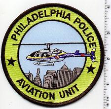 Philadelphia Police Aviation Unit (Pennsylvania) Shoulder Patch 1980's