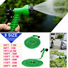 25-200FT Expandable Flexible Water Hoses Fabric Watering Pipe+Spray Nozzle Gun