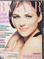 MAY 1995 HARPERS BAZAAR vintage ladies fashion magazine ELIZABETH HURLEY
