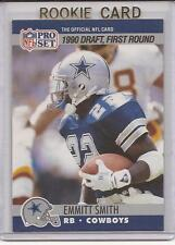 EMMITT SMITH 1990 PRO SET MINT RC ROOKIE CARD DALLAS COWBOYS