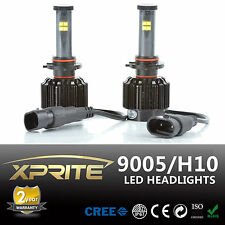80W 9005 (HB3) LED Headlight Conversion Kit - Replaces Halogen & HID Bulbs