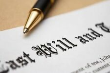 Traditional Last Will and Testament Australian Law Single Person Do-It-Yourself