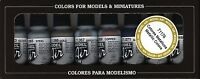 VAL71176   Model Air Set - Metallic Colors AIRBRUSH READY PAINTS   .