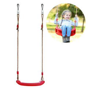 Outdoor Rope Children's Swing Seat Trapeze Replacement ClimiIng Frame UK Stock