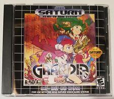 Grandia English translation Sega Saturn custom