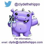 CLYDE THE HIPPO