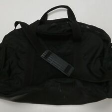 Eddie Bauer Soft Side Black Nylon Duffel Gym Bag