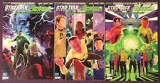 Star Trek Green Lantern Stranger Worlds #4, #5 & #6 (DC 2017) Hi grade.