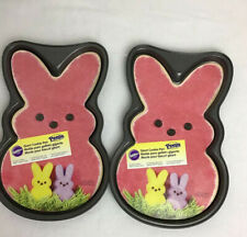 Wilton Easter Peeps Bunny Shape Large Giant Cookie Pan